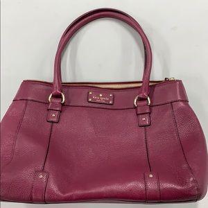 Burgundy colored Kate Spade purse!!